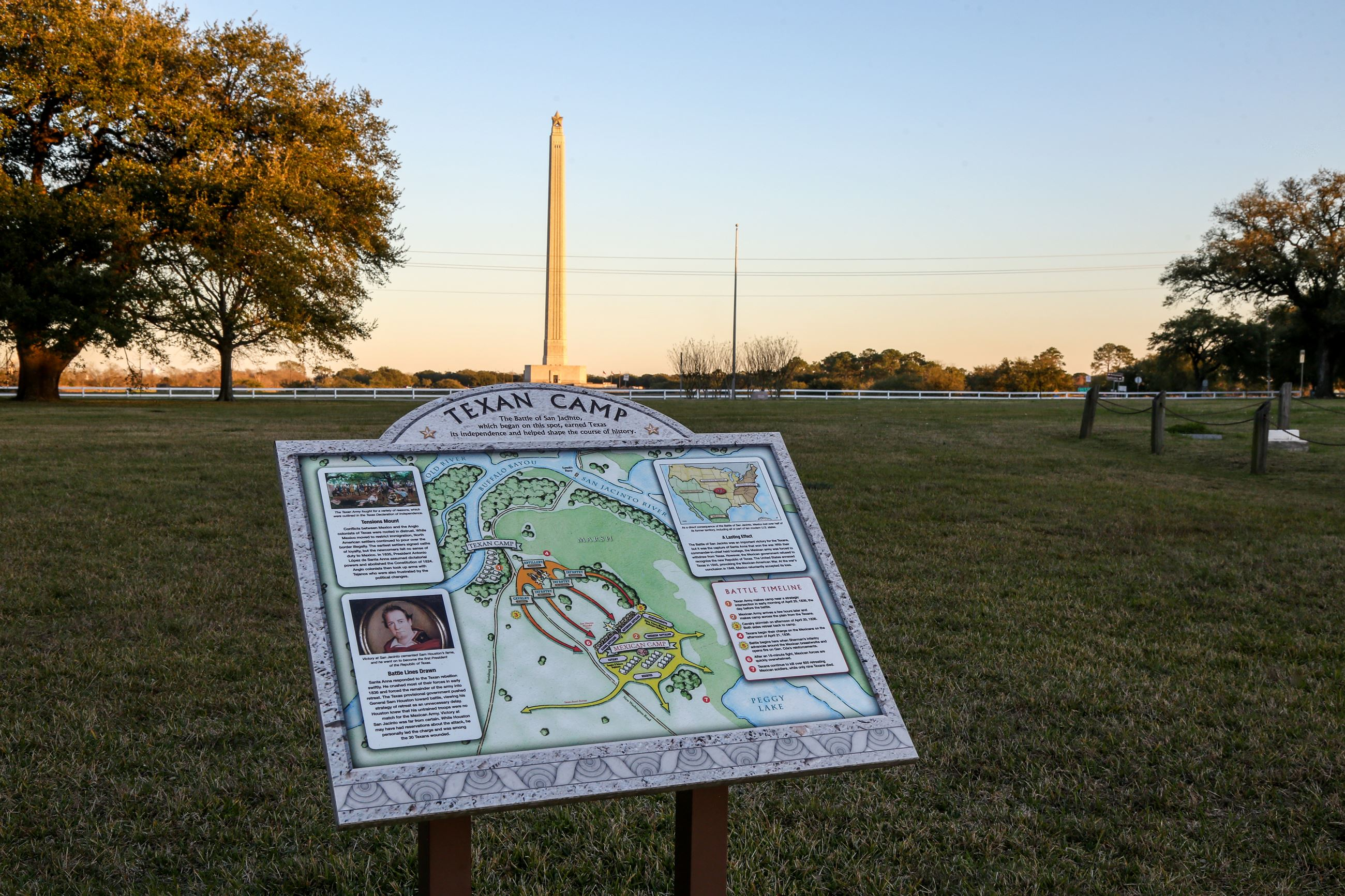 About the San Jacinto Battlefield